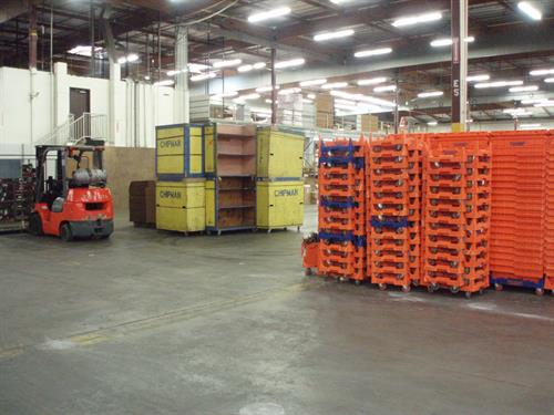 Move crates & carts