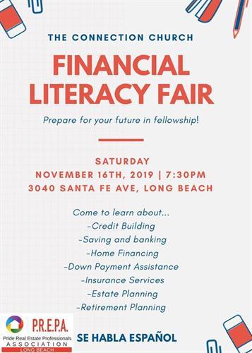 Financial Literacy Fair!