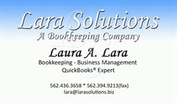Lara Solutions, A Bookkeeping Company