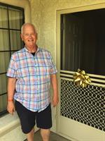 My client receiving the keys to his new Palm Springs Condo after retiring!