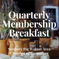 October Quarterly Membership/Candidates Breakfast