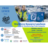 Workforce Resource Luncheon for Manufacturing/Trade Companies