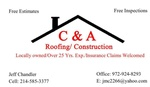 C & A Roofing / Construction