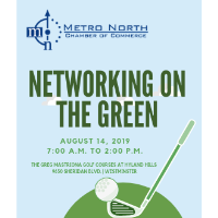 Networking on the Green - Golf Tournament