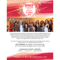 Women of the Metro North Awards Dinner, sponsored by St. Anthony North