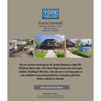 Ribbon Cutting for York Street Depot