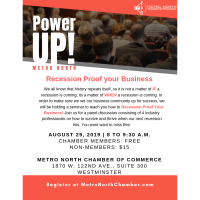 PowerUP! Metro North: Recession Proof Your Business