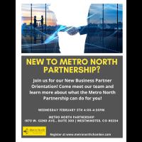 New Business Partner Orientation