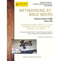 CANCELLED Metro North Young Professionals Network- Bruz Beers
