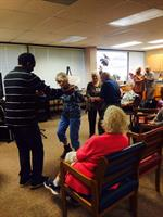 Dancing at the Adult Day Center