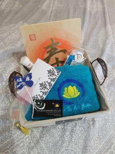 Gifts prize basket