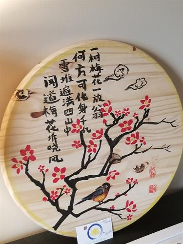 Grace Yu Art Studio Chinese art painting