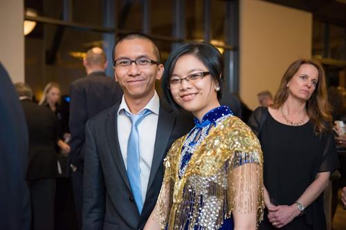 Grace Yu Art Studio attended Chamber's Gala