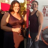 Owner, Amanda Weber's weight loss transformation