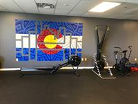 Cardio Equipment (from left to right): Concept2 Rower, Concept2 SkiErg, Assault Air Bike