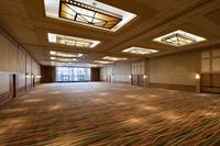 12,000 SF Ballroom with Windows to North Courtyard outdoor space