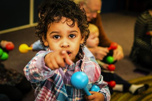 We want YOU to join us for early childhood education classes like Kindermusik and AussieRoo!