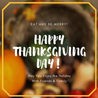 Happy Thanksgiving - CHAMBER OFFICE CLOSED