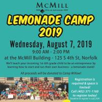 Lemonade Camp 2019