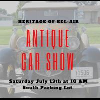 Heritage of Bel-Air Antique Car Show
