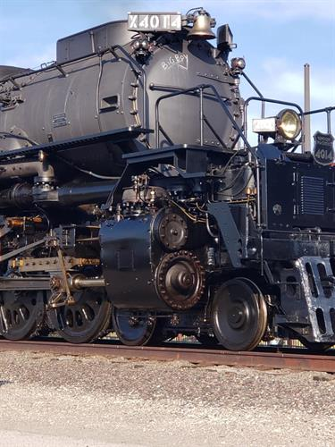 Union Pacific unveiling of The Big Boy, Steam Engine #4014