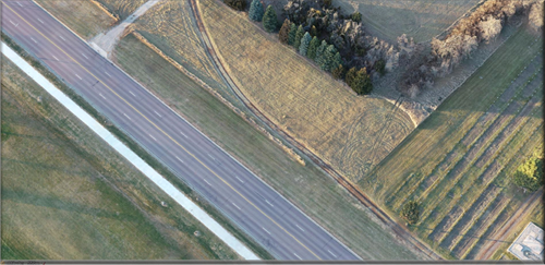 Highway 50 Aerial Photography for SDDOT
