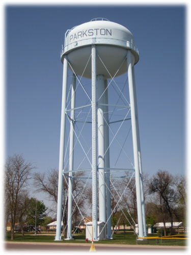 City of Parkston Water Tower