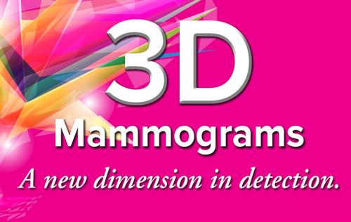Genius 3D mammography allows doctors to examine your breast tissue layer by layer. So, instead of viewing all the complexities of your breast tissue in a flat image, as with traditional 2D mammography, fine details are more visible and no longer hidden by the tissue above or below.