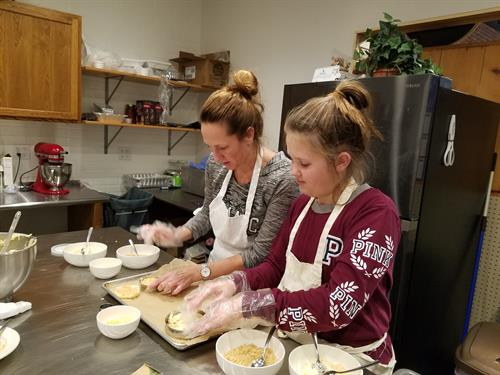 Cooking classes with your kids.