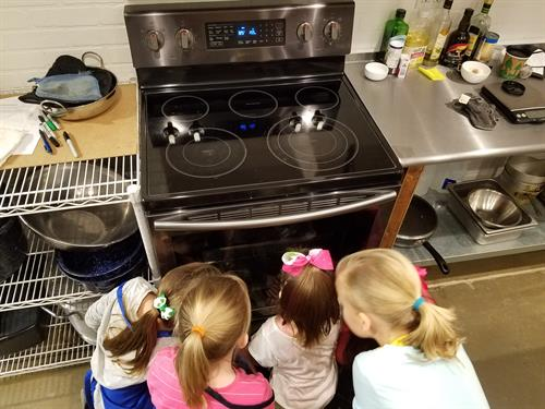 Cooking classes FOR your kids.