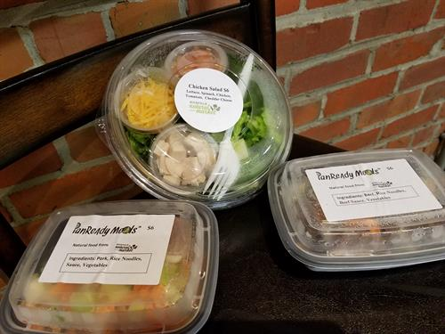 Healthy food to go.