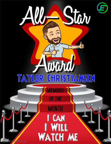 May 2020 Member of the Month