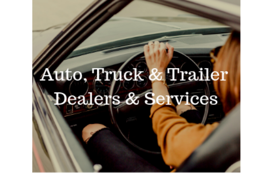 Auto, Truck & Trailer Dealers & Services