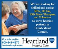 Looking for RNs, HHAs, Volunteers and PRN music therapist for Cumberland County