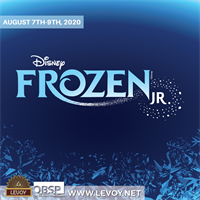 **RESCHEDULED FROM MAY 15-17** Disney's Frozen Jr. at Levoy Theatre - August 7 - 9, 2020