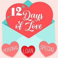 Bay Atlantic Federal Credit Union 12 Days Of Love Personal Loan