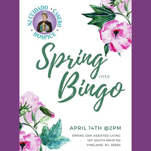 Spring into Bingo @ SPring Oaks Assisted Living