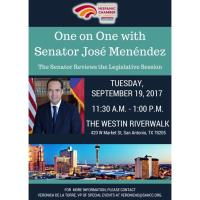One-On-One with Senator Jose Menendez Luncheon