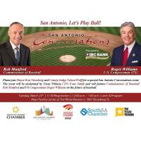San Antonio Conversation Luncheon featuring Congressman Roger Williams and MLB Commissioner Rob Manfred