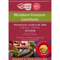 Members Connect Luncheon at Ácenar: Downtown Riverwalk