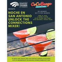 "Noche En San Antonio ""Unlock The Connections"" Mixer at Coco Bongo Cocina & Bar"