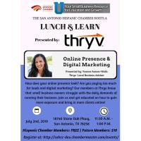 "Lunch & Learn: ""Online Presence & Digital Marketing"" presented by Thryv-Yvonne Walls"