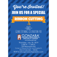 Grand Opening Celebration of the Gonzaba Medical Group Specialty Center