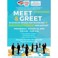 August Meet & Greet Business Speed-Networking Event