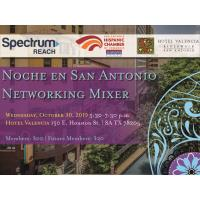 Noche En San Antonio Business Networking Mixer hosted at Hotel Valencia