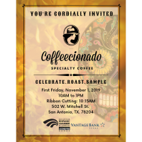 Ribbon Cutting: Coffecionado