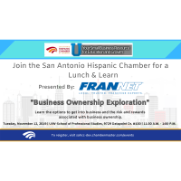 "Lunch & Learn: ""Business Ownership Exploration"" Presented By Frannet"
