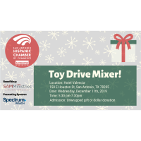 Annual Toy Drive Mixer Benefiting SAMMinistries of San Antonio!