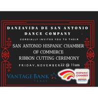 Ribbon Cutting: Danzavida De San Antonio Dance Company
