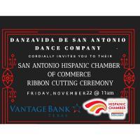 Ribbon Cutting: Danzavida De San Antonio Dance Company